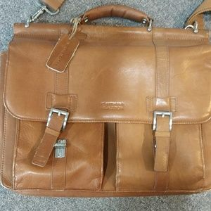 Kenneth Cole Leather brief case